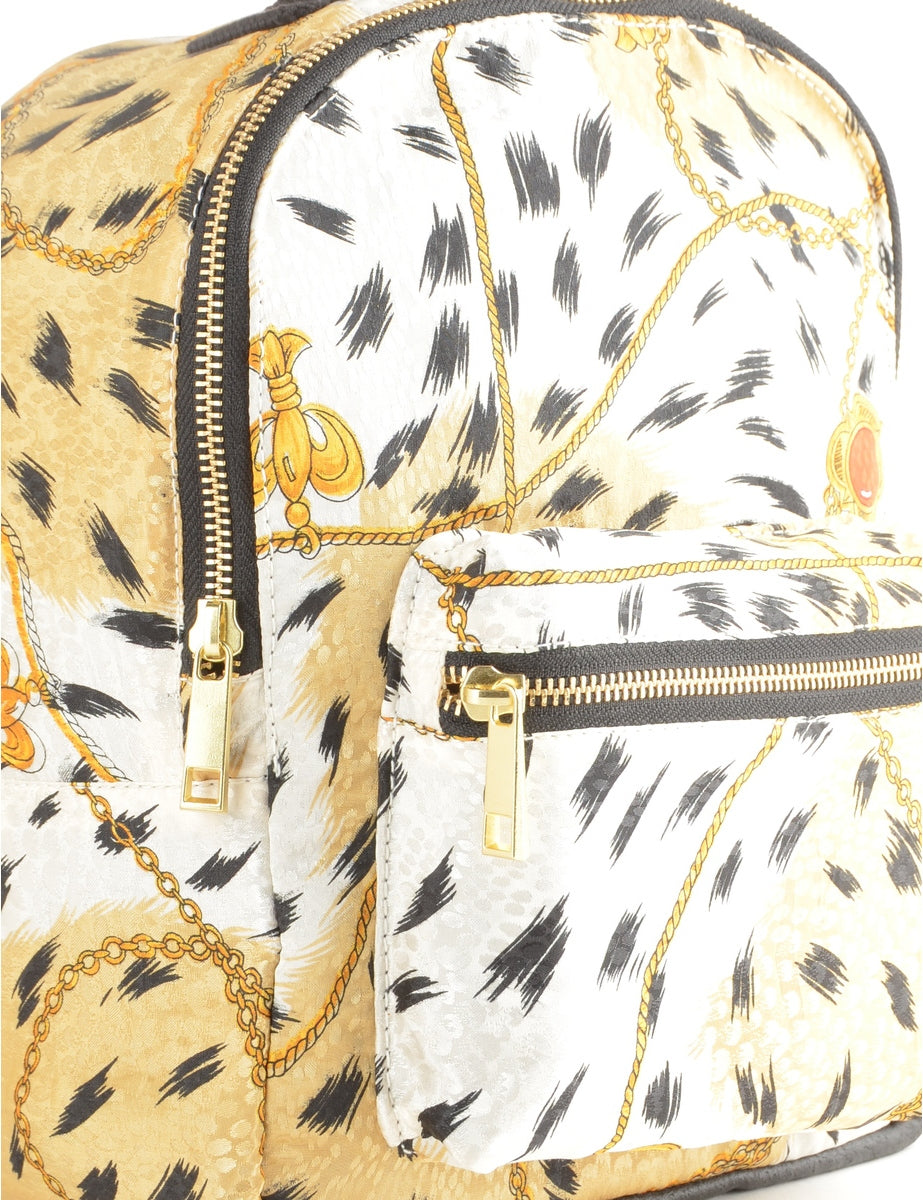 Label Emma Mini 90s Scarf Backpack