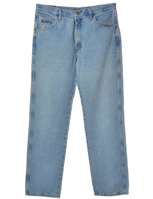 Wrangler Jeans Light Wash With Pockets