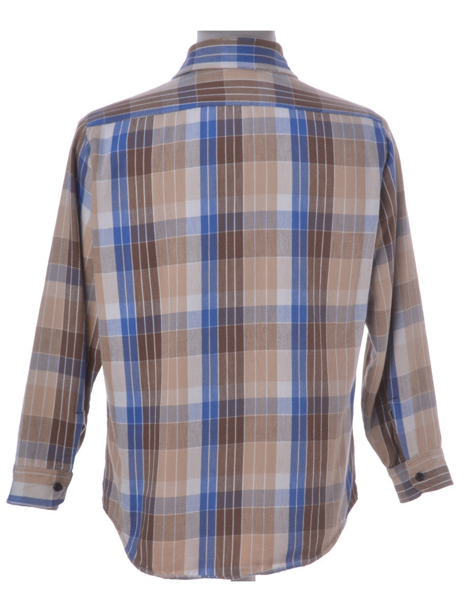Checked Shirt Multi-colour With Pockets
