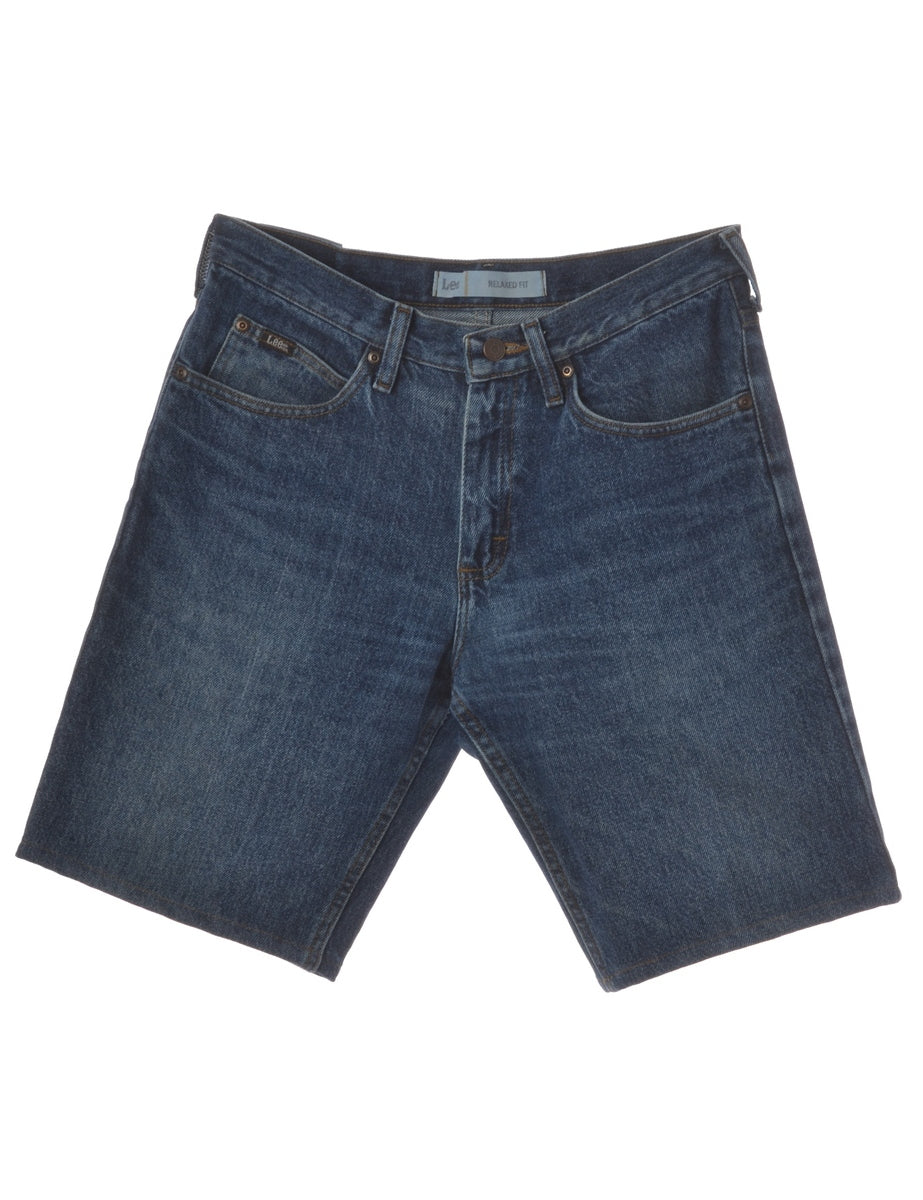 Dark Wash Toby Mens Denim Shorts