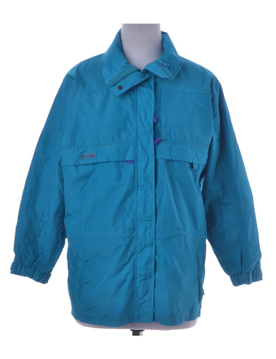 Casual Jacket Turquoise With Full Lining