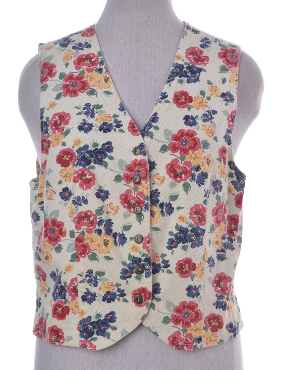 Waistcoat Multi-colour With A Belt