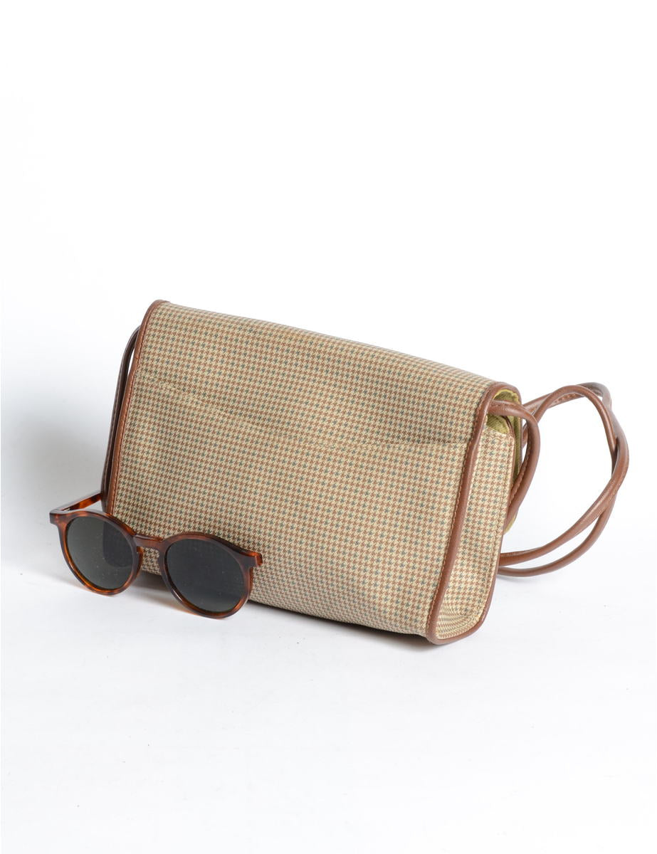 Dog Tooth Shoulder Bag