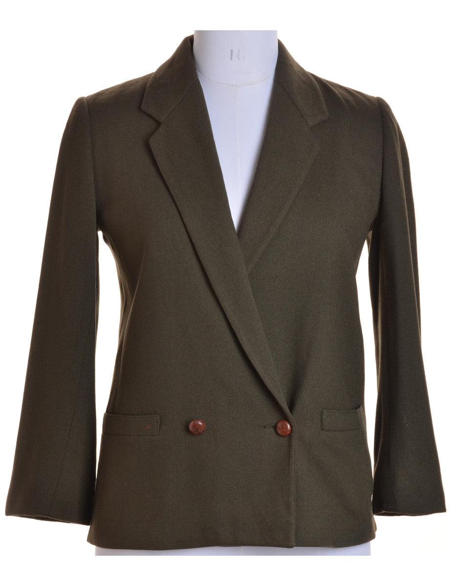 Blazer Dark Green With Full Lining