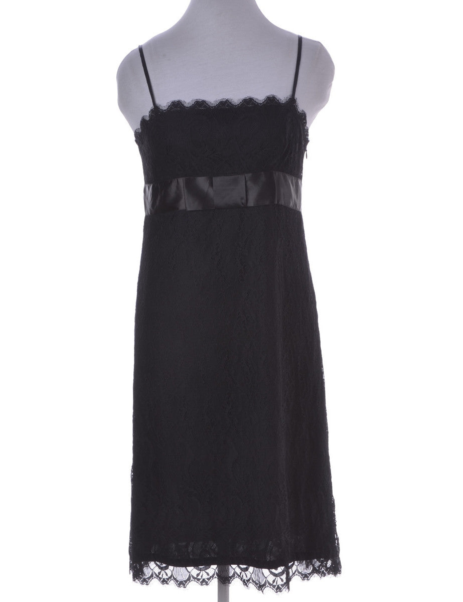 Day Dress Black With Full Lining