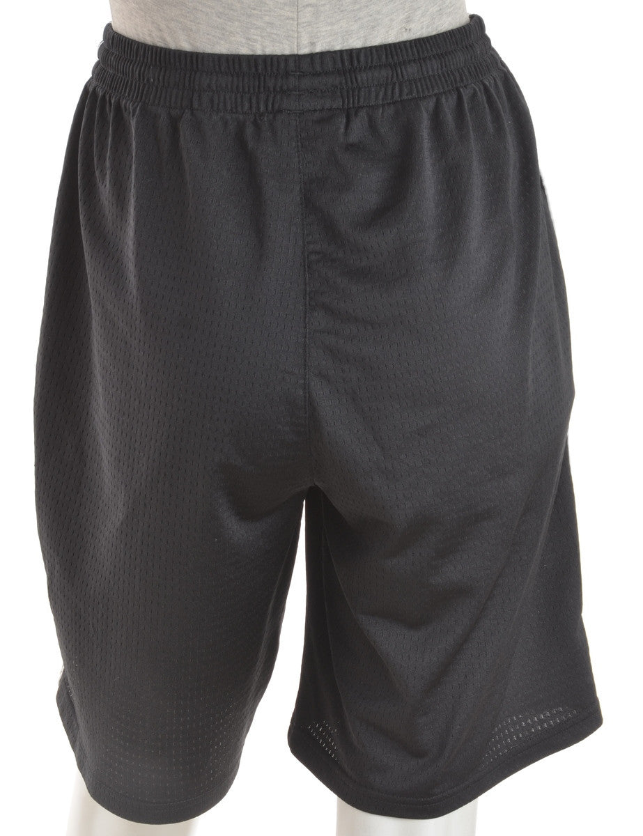 Sports Shorts Black With An Elasticized Waist