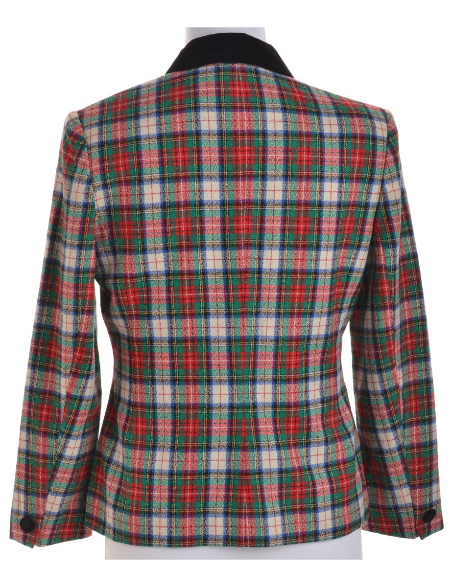 Casual Jacket Multi-colour With Full Lining