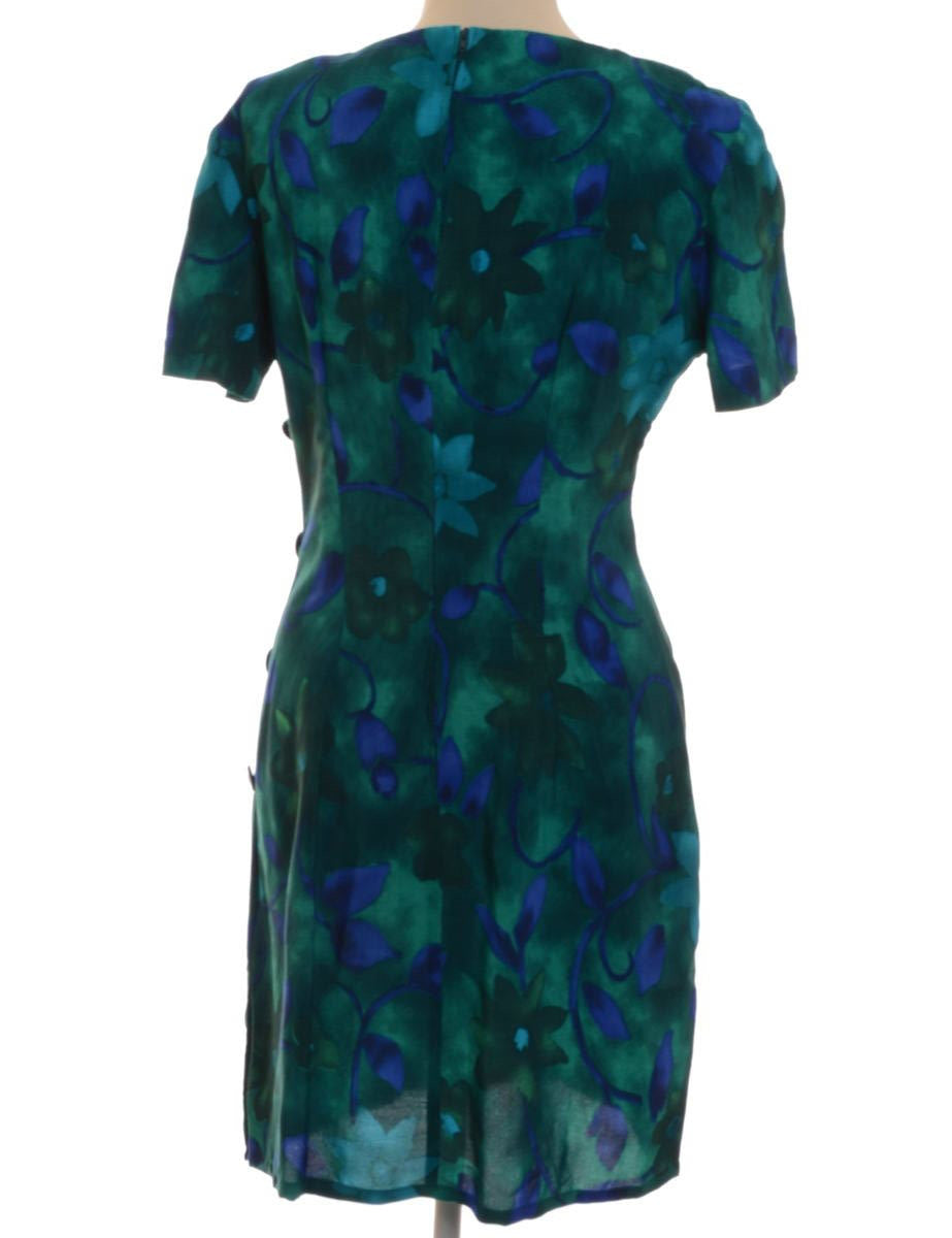 Beyond Retro Label Short Dress Green