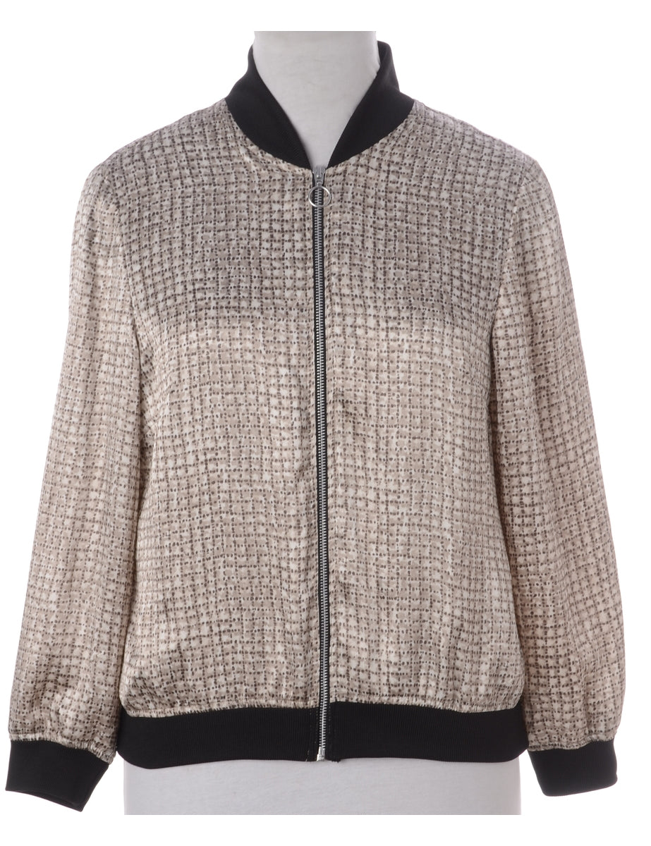 Label Josie Blouse Bomber With Rib
