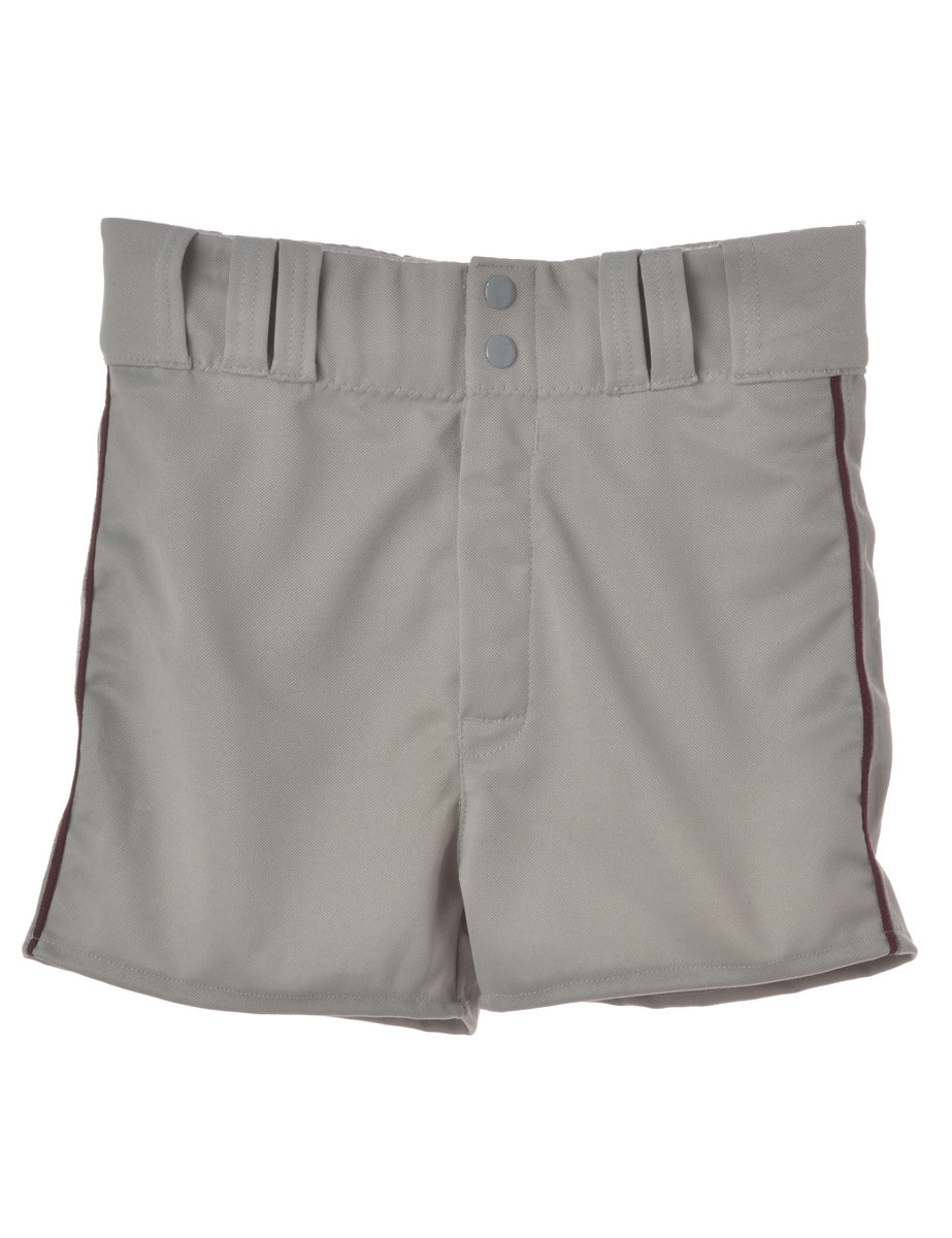 Grey Baseball Shorts