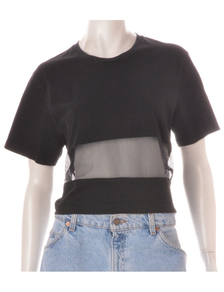 Label Shona Mesh Panel t-shirt