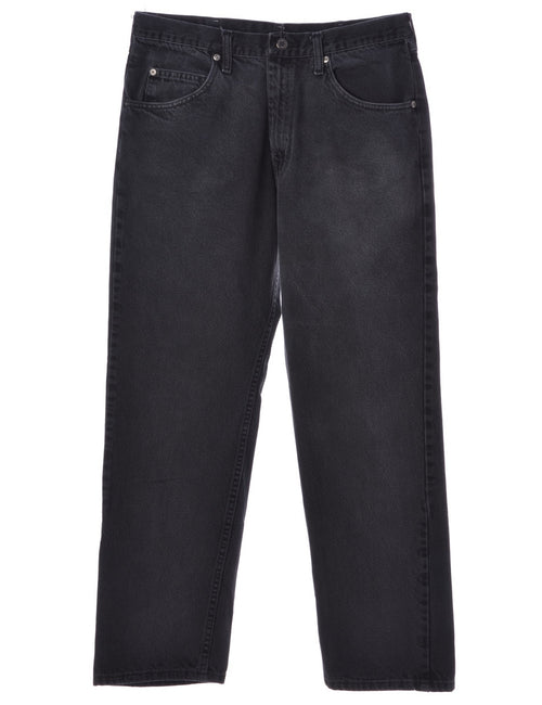 Wrangler Jeans Black With Multiple Pockets