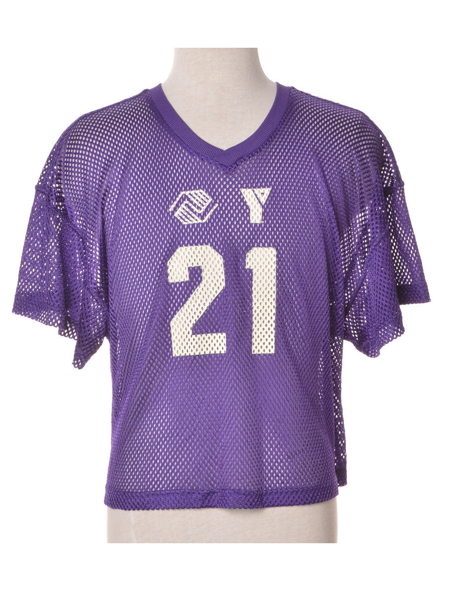 Sports T-shirt Purple