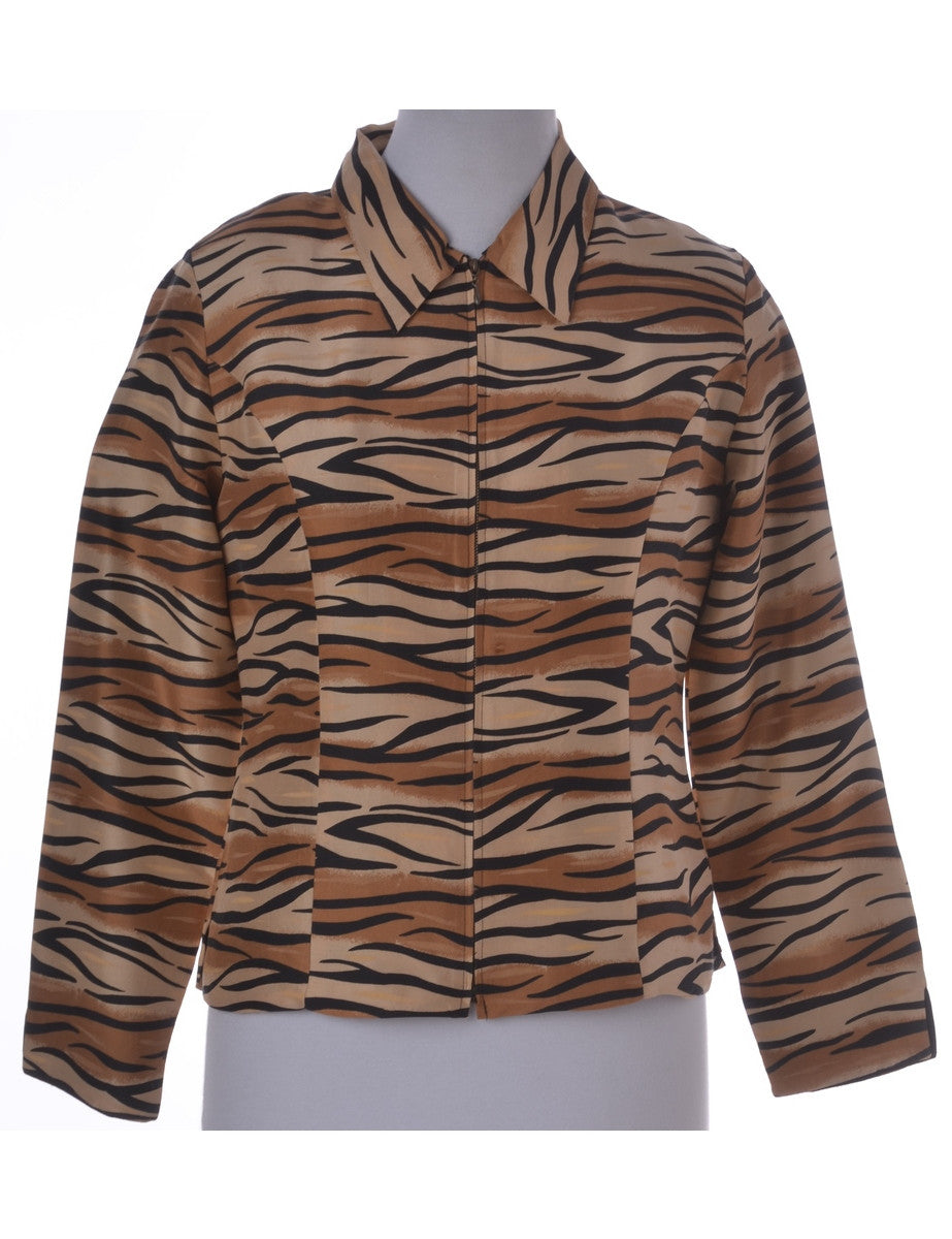 Casual Jacket Light Brown
