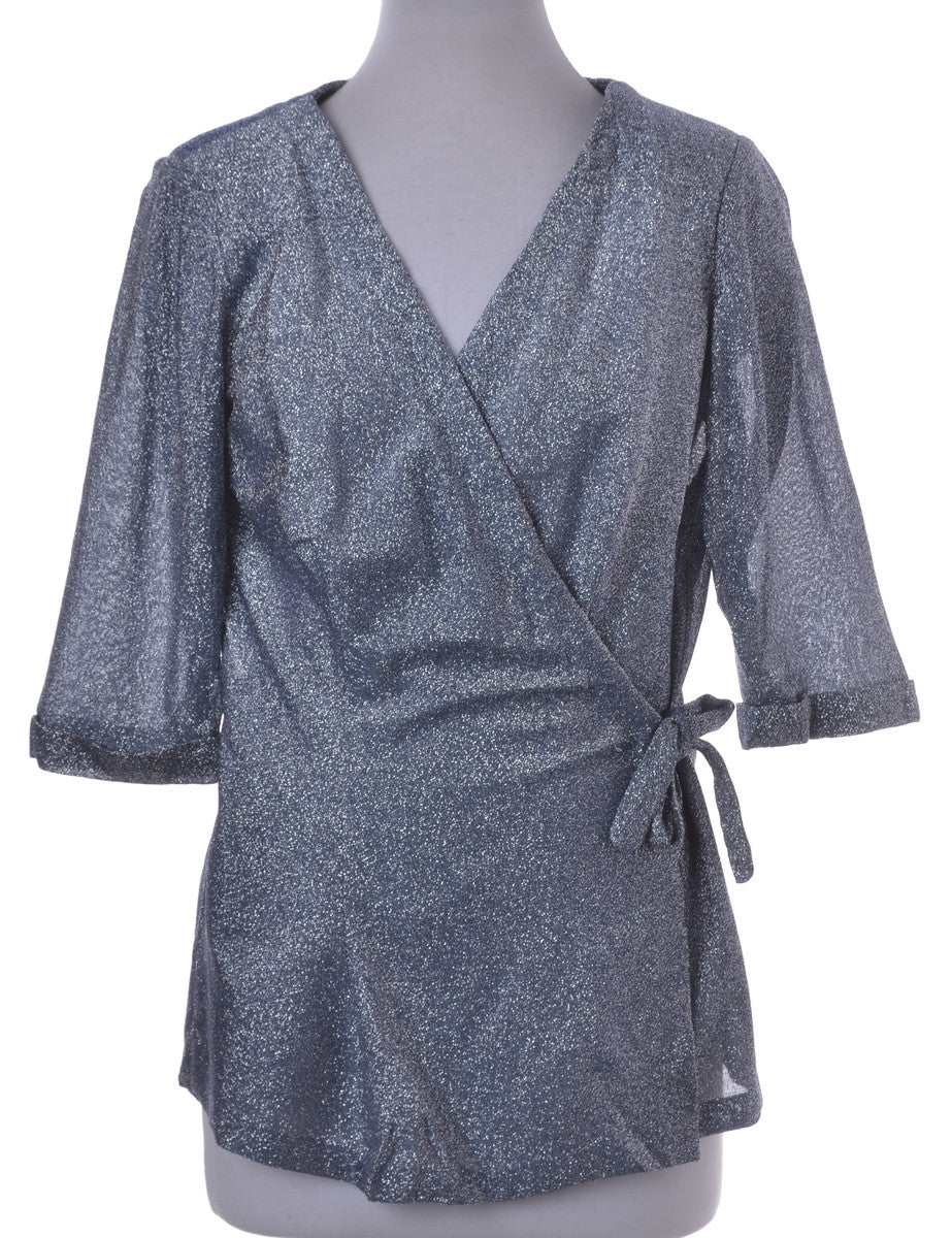 Evening Jacket Grey With Removable Shoulder Pads