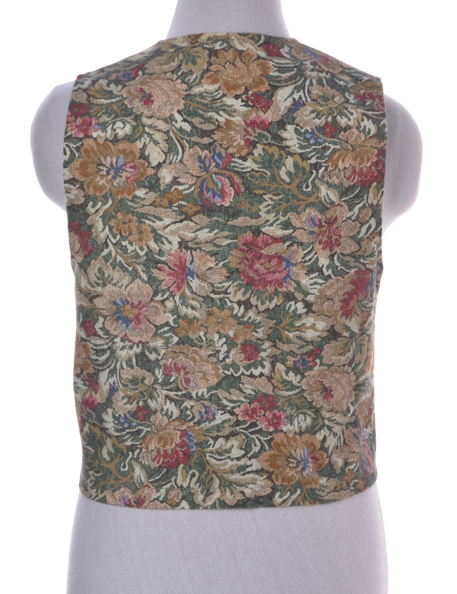 Waistcoat Multi-colour With Decorative Pockets