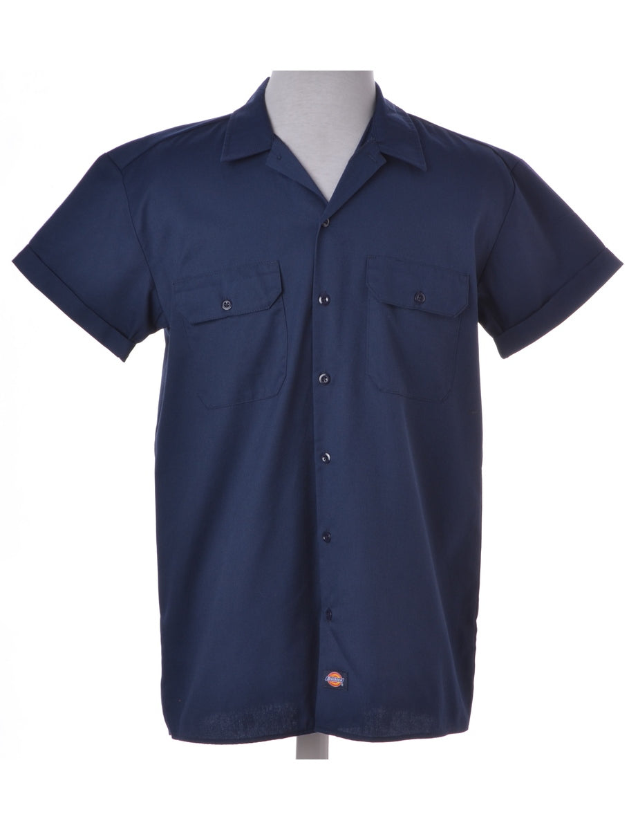 Label Rolled Sleeve Dickies Shirt