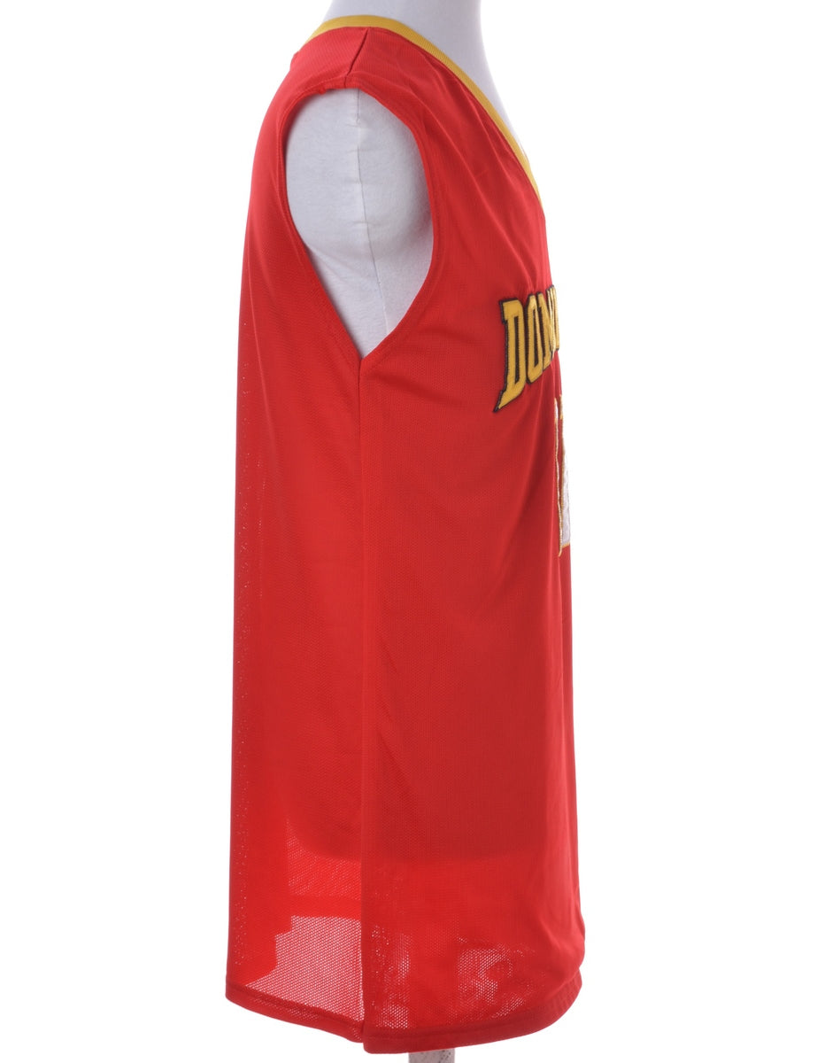 Racer Back Football Jersey Dress