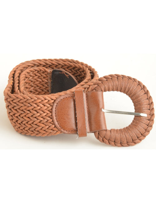 Woven Belt Light Brown