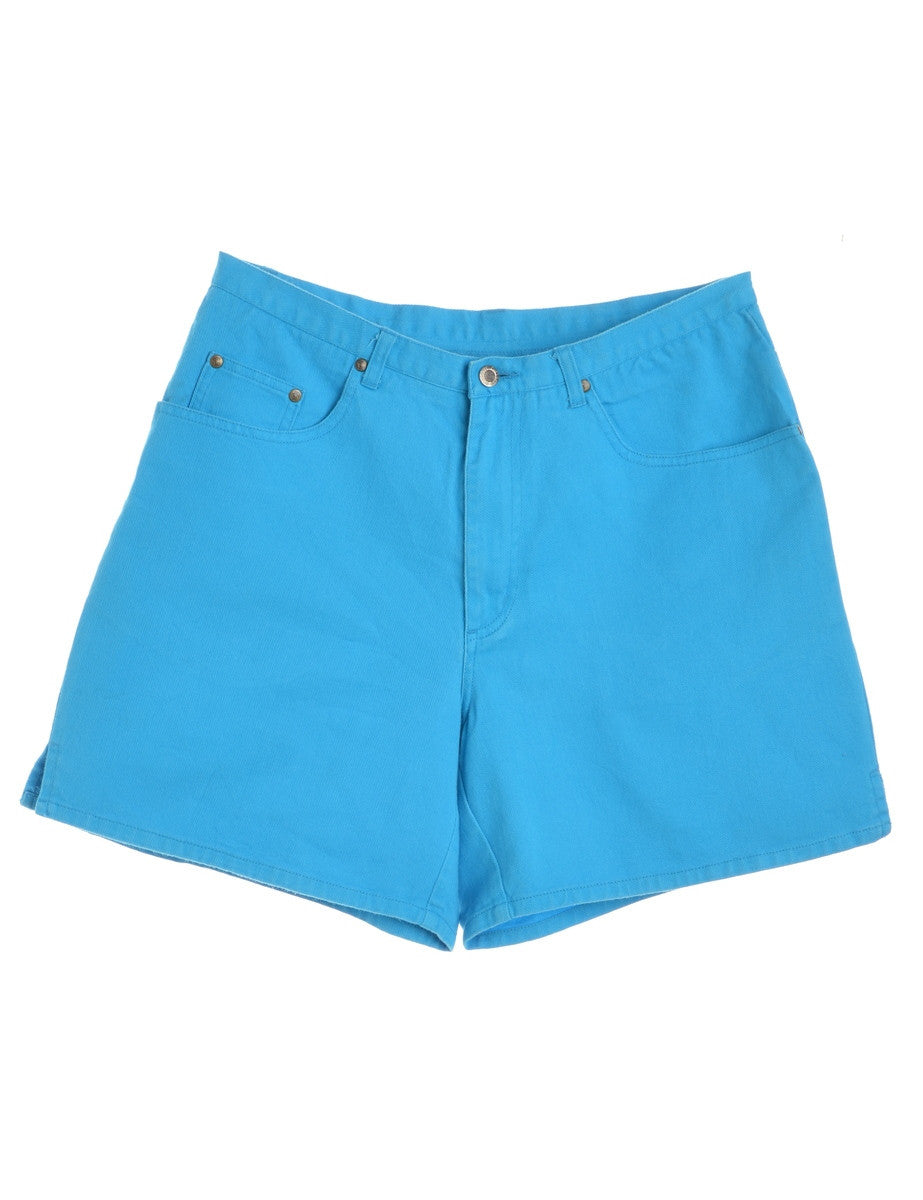 Denim Shorts Blue With Multiple Pockets