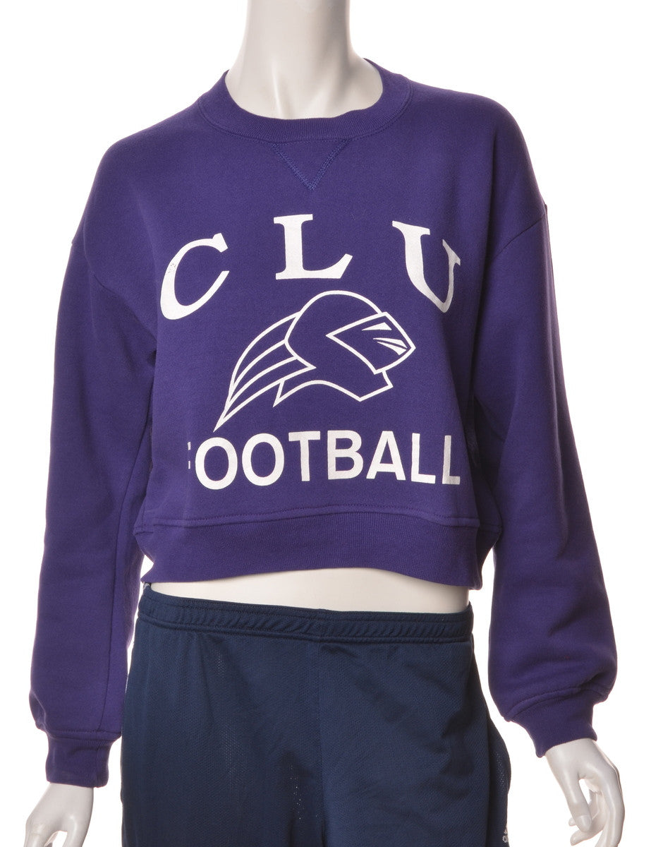 Label Louise Cropped Original Sports Sweatshirt