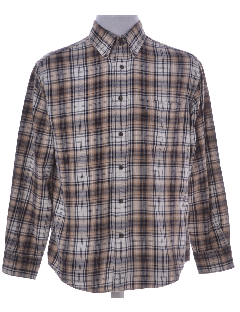 St. John Bay Plaid Shirt