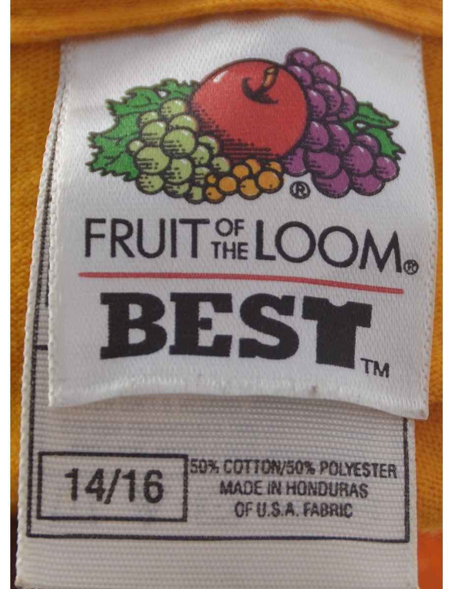 Fruit of the Loom Printed T-shirt