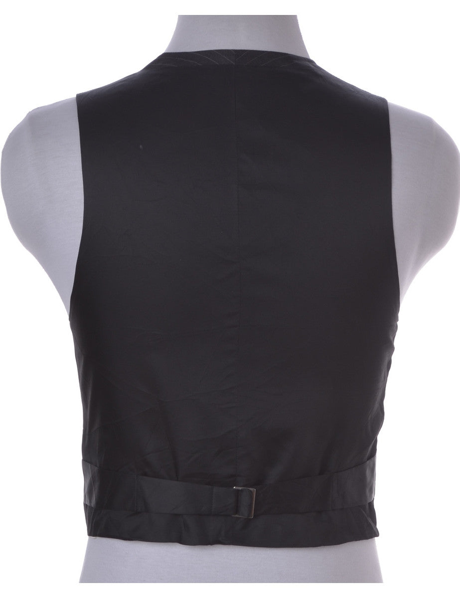 Waistcoat Black With Full Lining