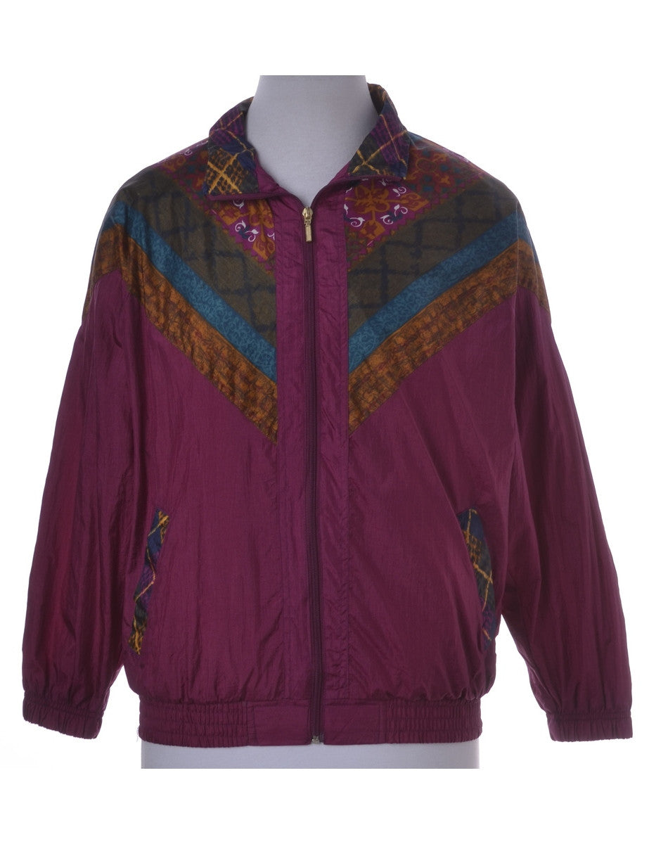 Casual Jacket Plum With Full Lining