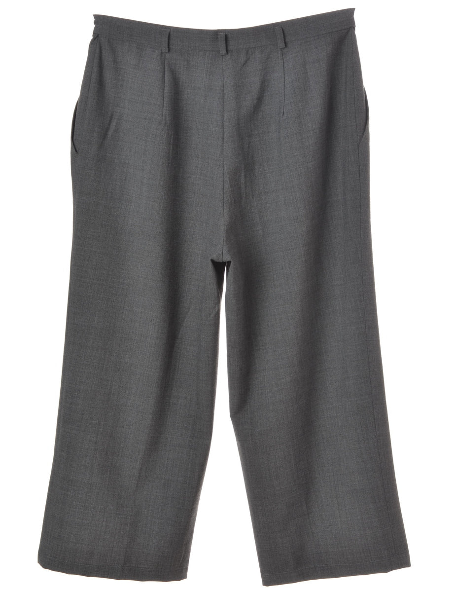 Label Grey Womens Cropped Trouser