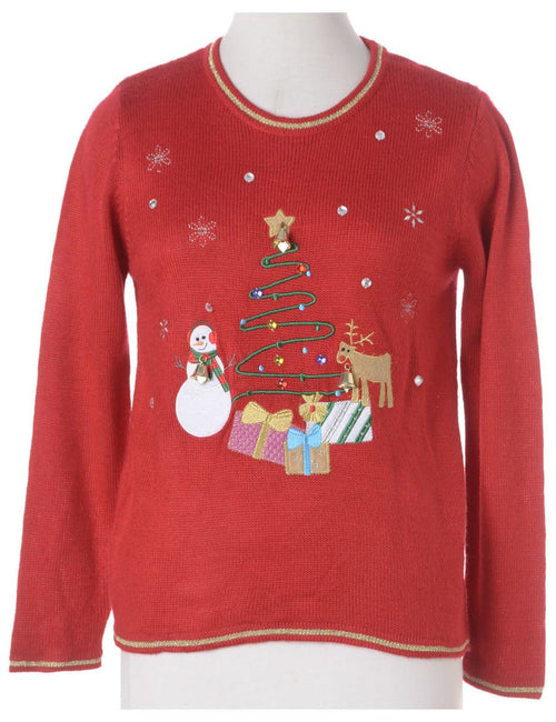 Label Christmas Sweatshirt With Bells