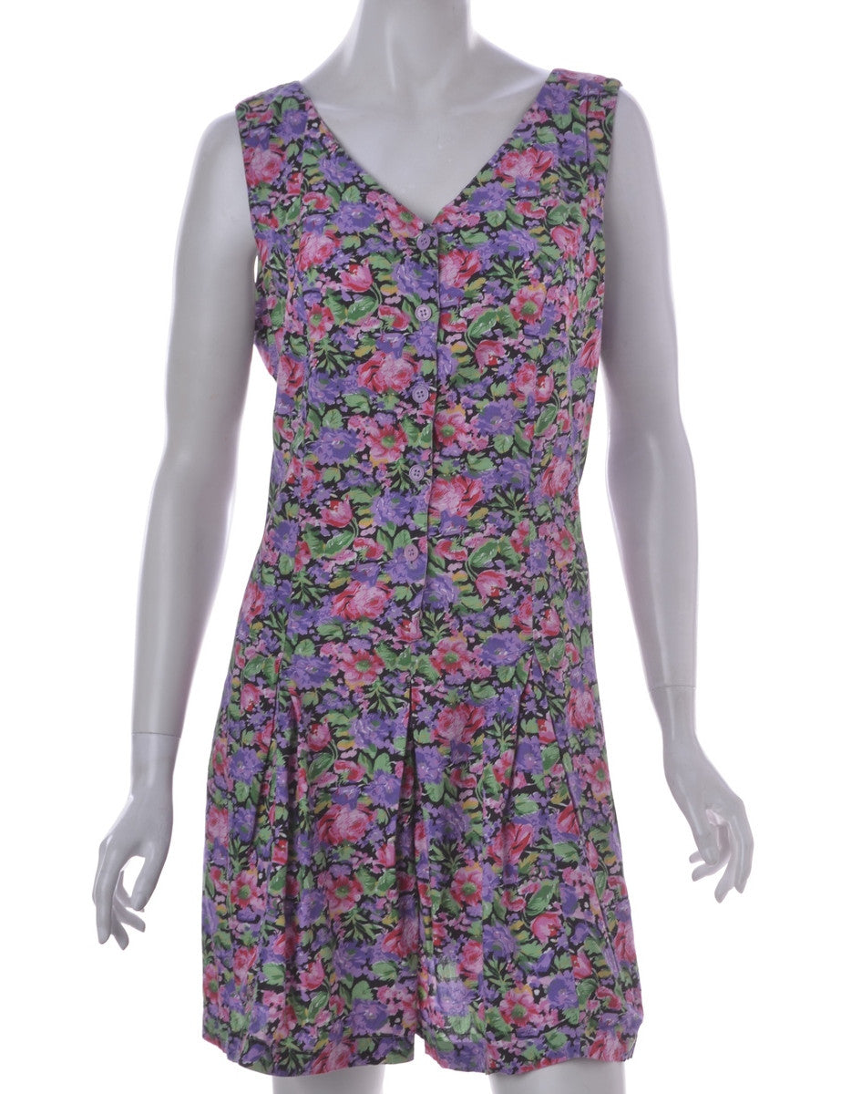 Playsuit Lilac With Back Tie