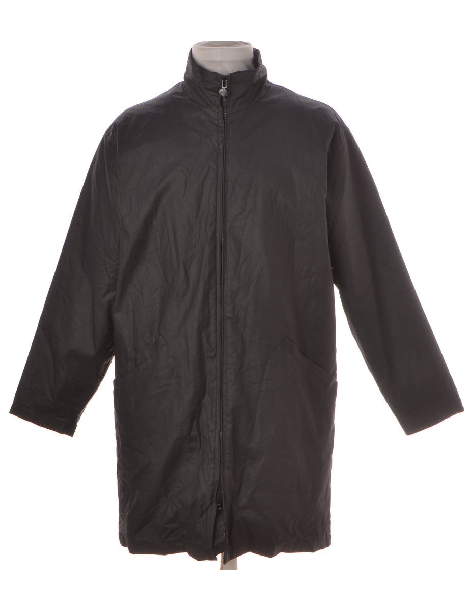 Zip Front Raincoat