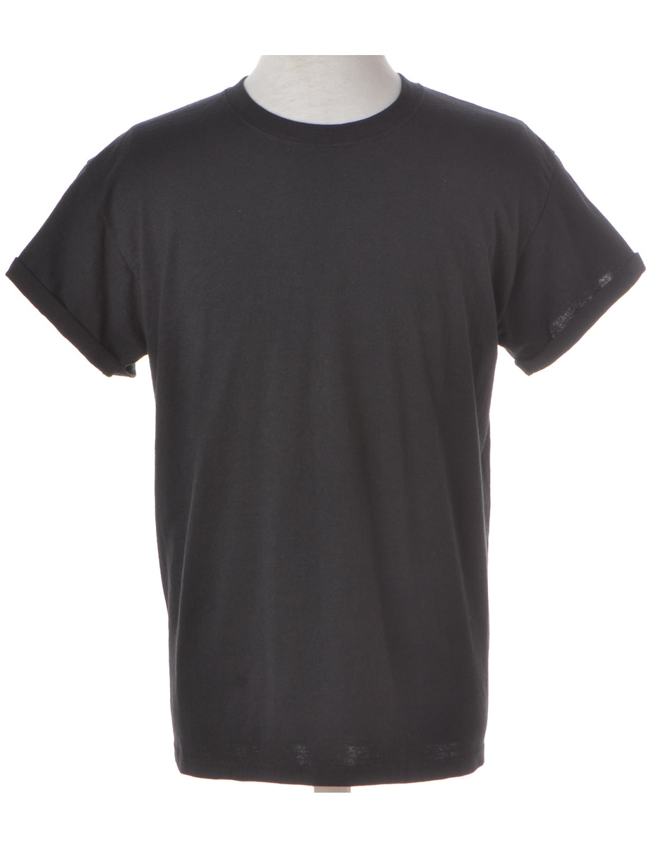 Label Roll Sleeve T-shirt