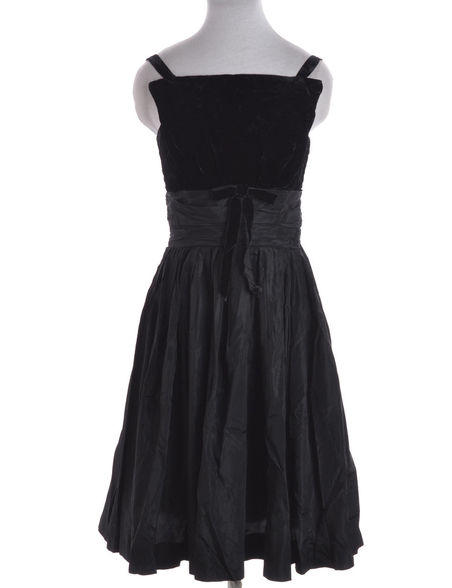 Party Dress Black With Full Lining