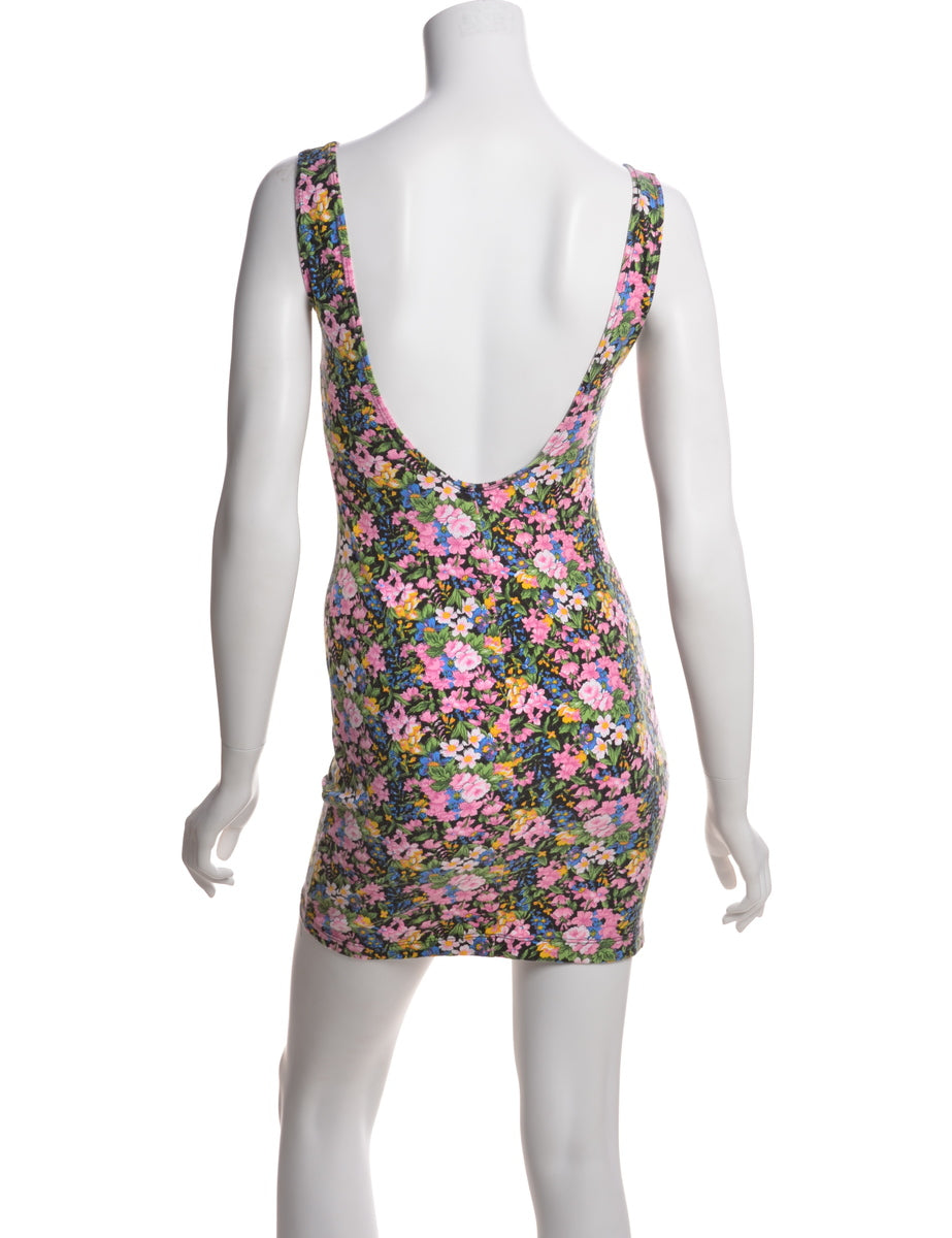 Bodycon Floral Print Summer Dress