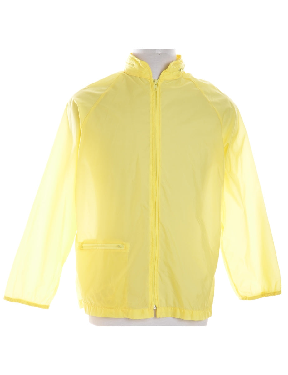 Yellow Casual Jacket