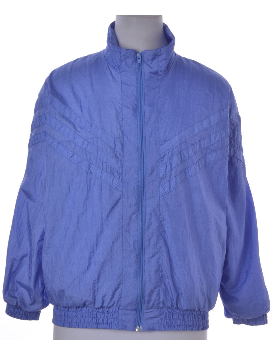 Casual Jacket Purple With Pockets