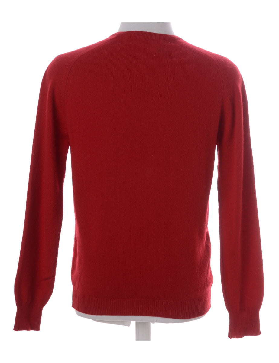 Beyond Retro Label 100% Wool Jumper