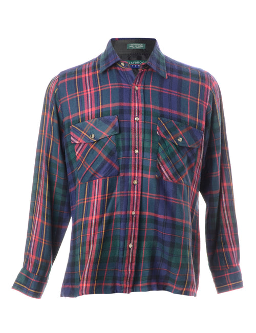 Acrylic Checked Shirt