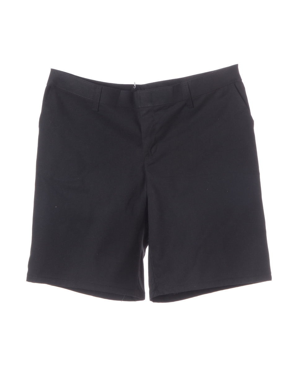 Beyond Retro Label Black Shorts