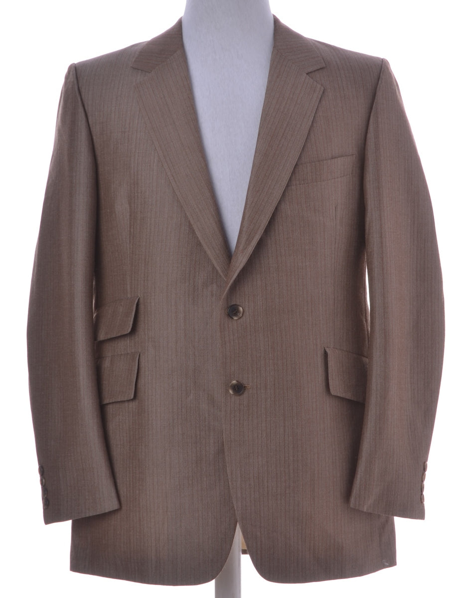 Beyond Retro Label Brown Blazer