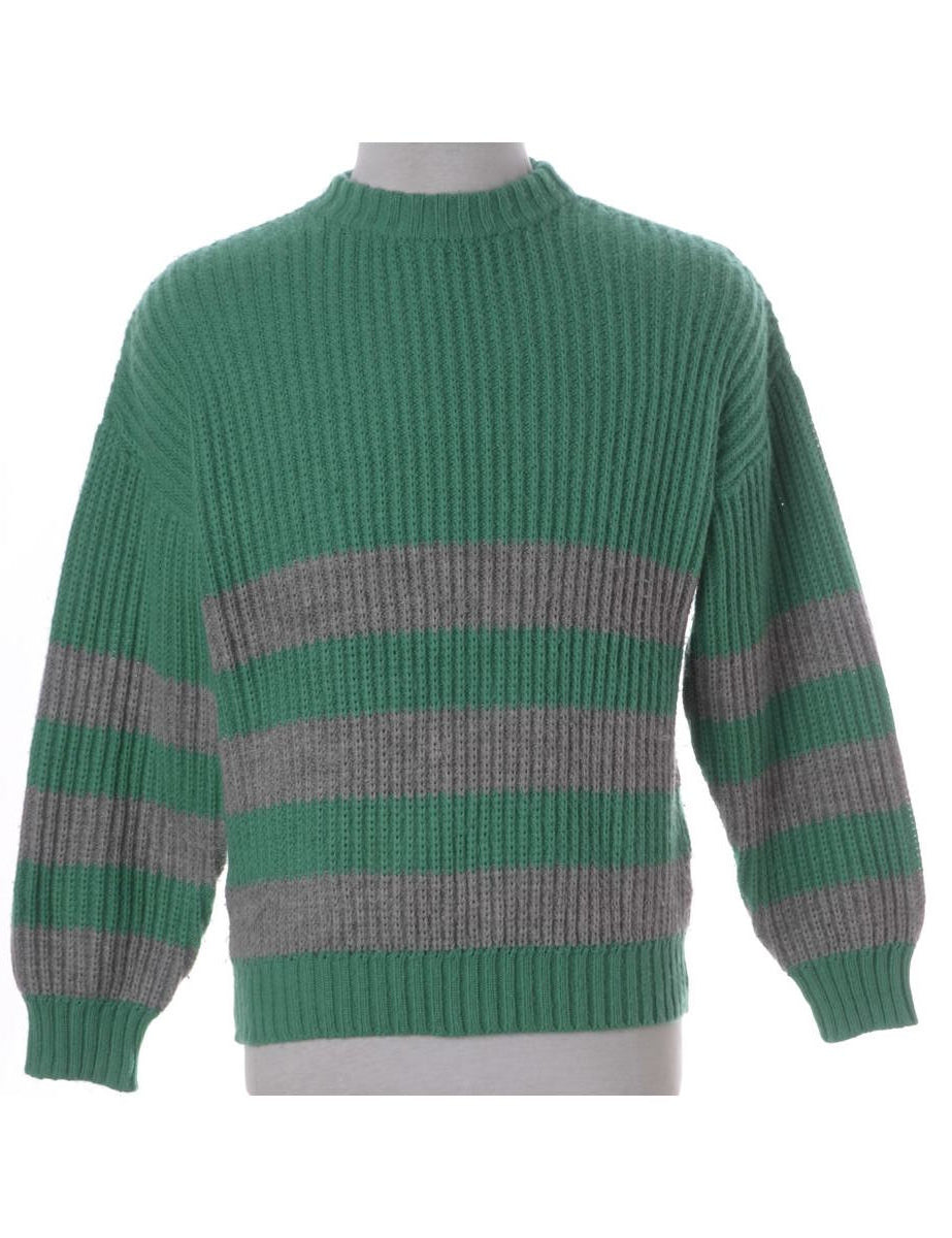 Beyond Retro Label Chunky Knit Jumper