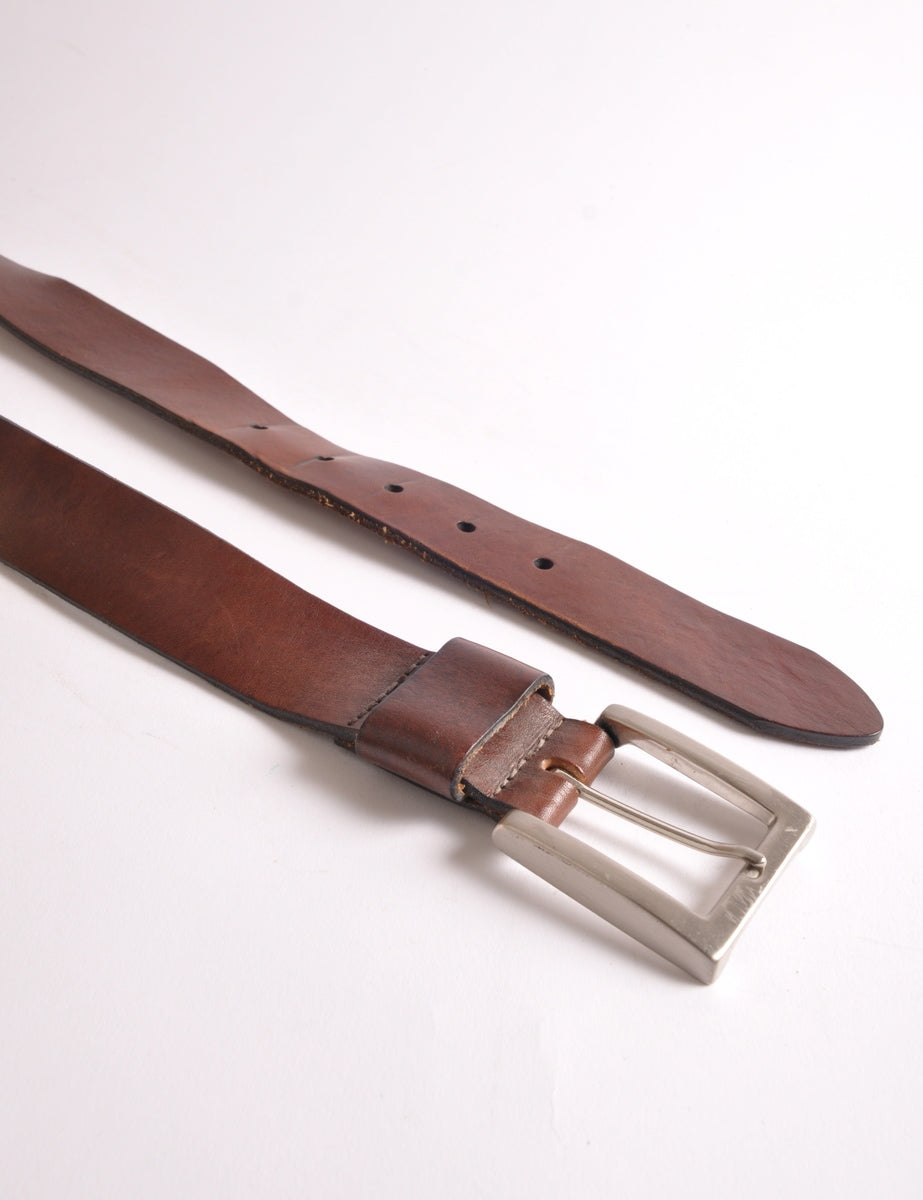 Classic Leather Belt - Belts - Beyond Retro