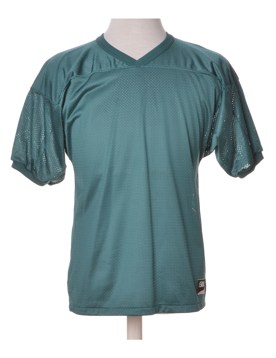 Beyond Retro Label Dark Green Plain T-shirt