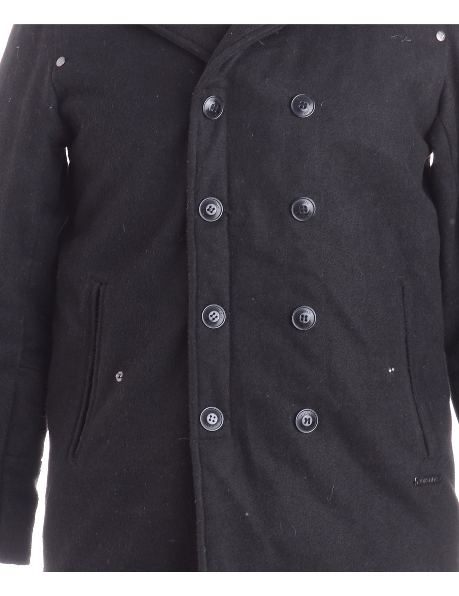 Beyond Retro Label Double Breasted Wool Coat