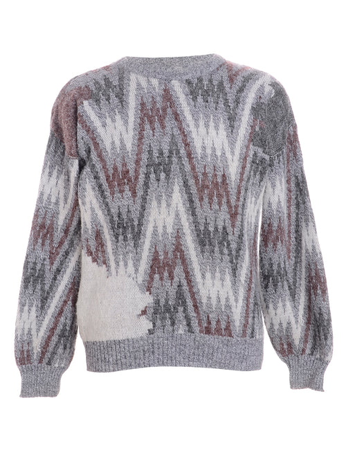 Graphic Knit Jumper