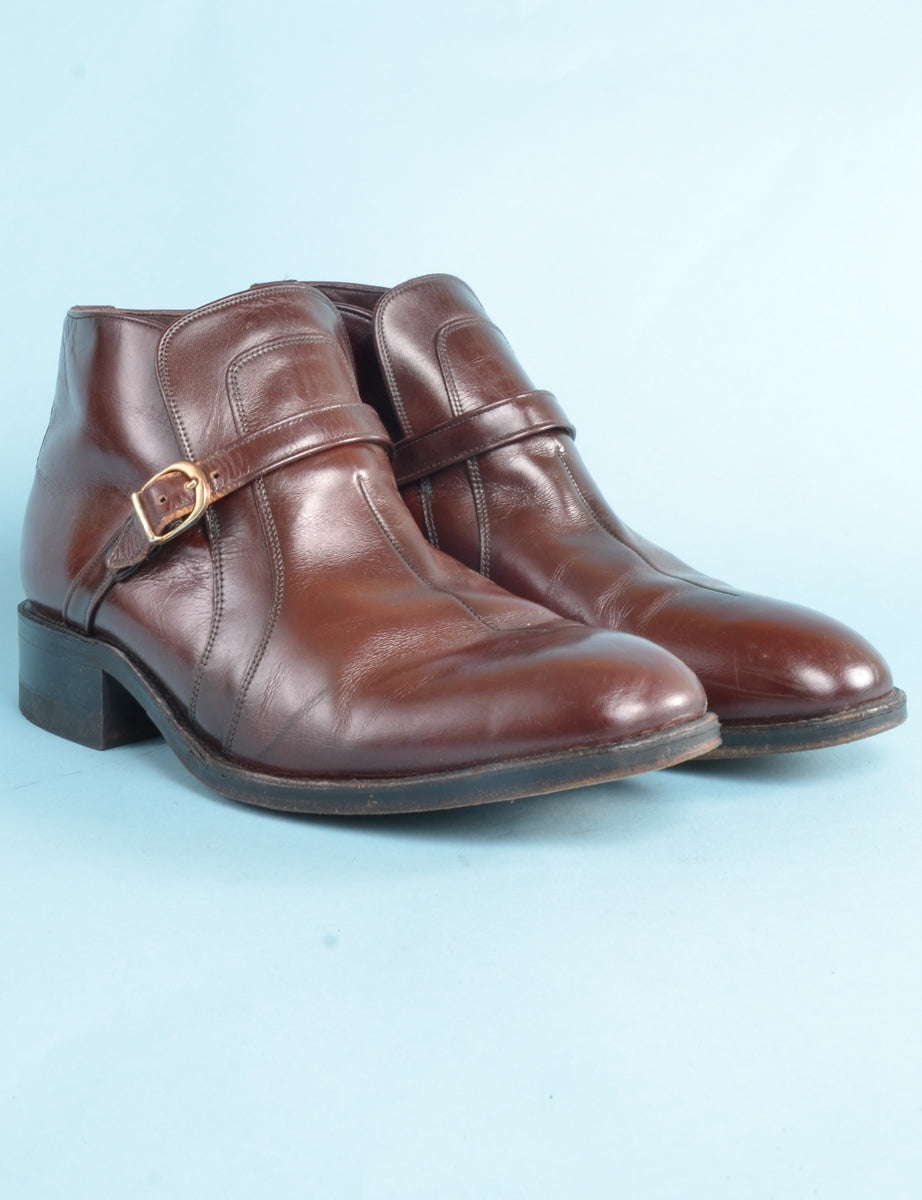 Beyond Retro Label Leather Boots