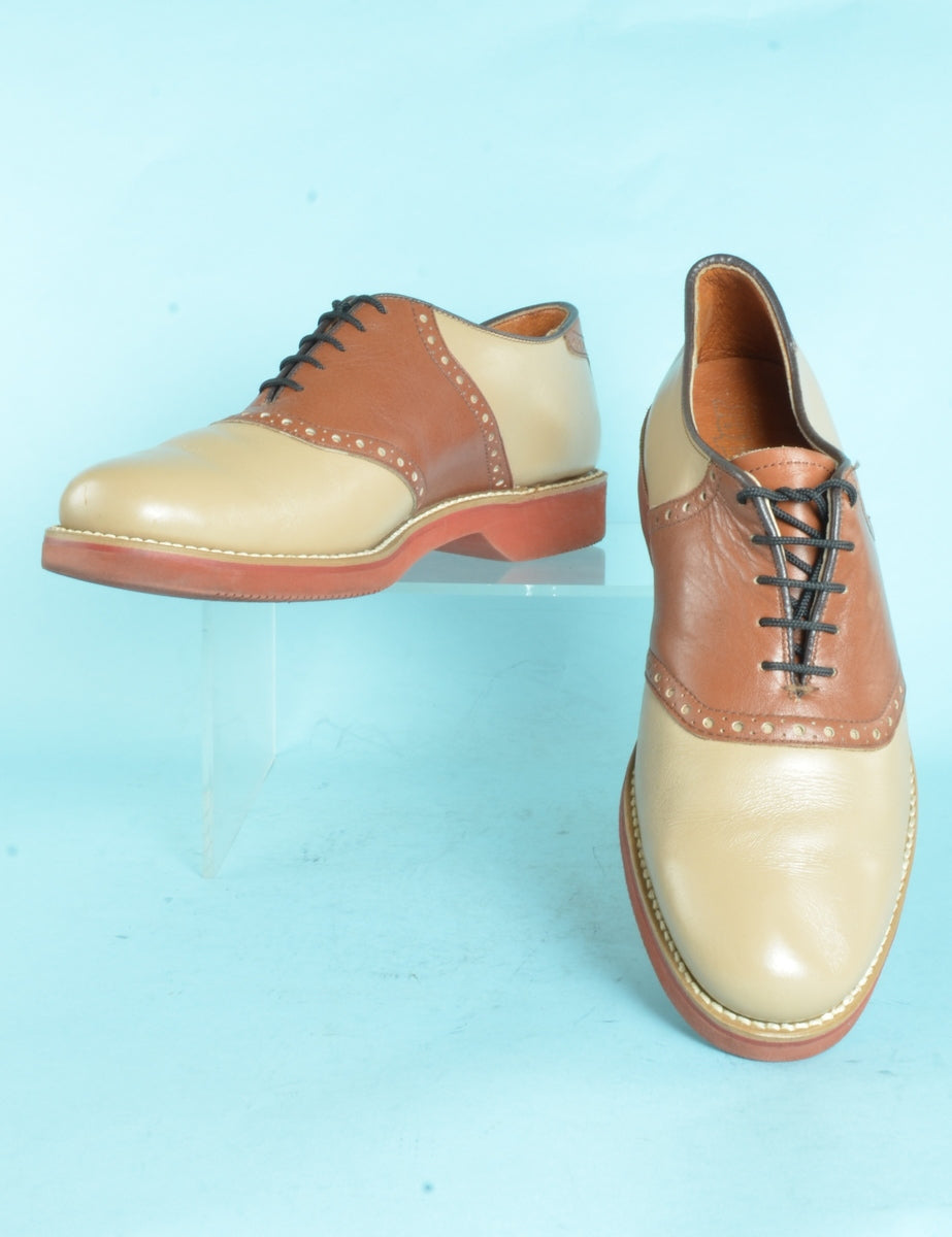 Beyond Retro Label Leather Casual Shoes