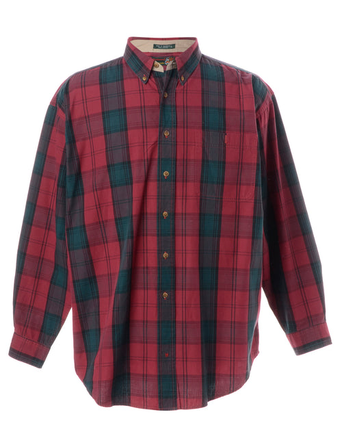 Light Weight Plaid Shirt